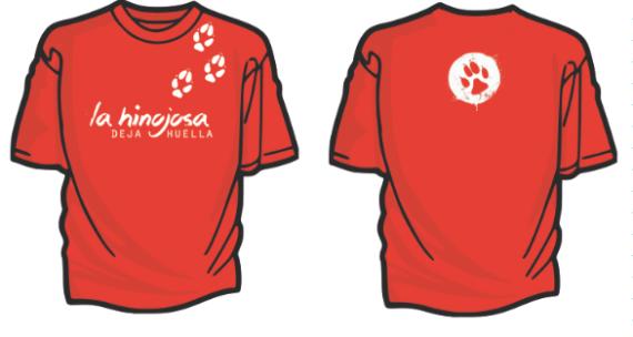 Diseño provisional camisetas La Hinojosa 2014