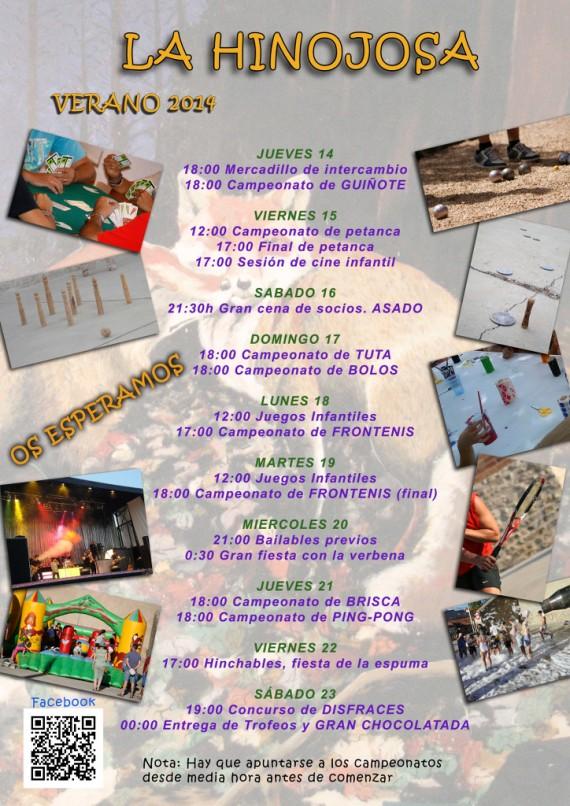 cartel fiestas agosto 2014
